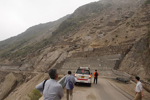 インド国 持続可能な山岳道路開発のための能力強化プロジェクト