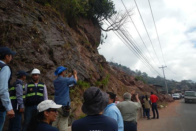 JICA ホンジュラス国首都圏斜面災害対策管理プロジェクト